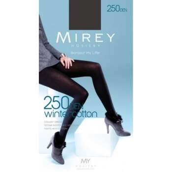 Купить  Wintercotton 250 den колготи Nero Mirey